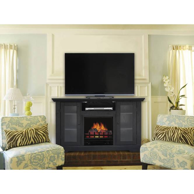 Decor Flame Media Electric Fireplace For Tvs Up To 37quot
