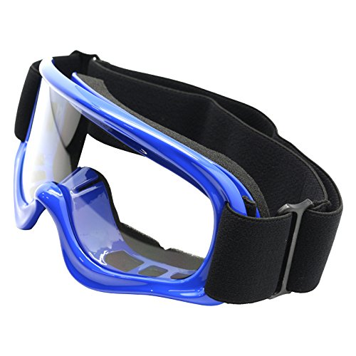 tms youth blue off road goggles motocross dirt bike atv mx as10 b