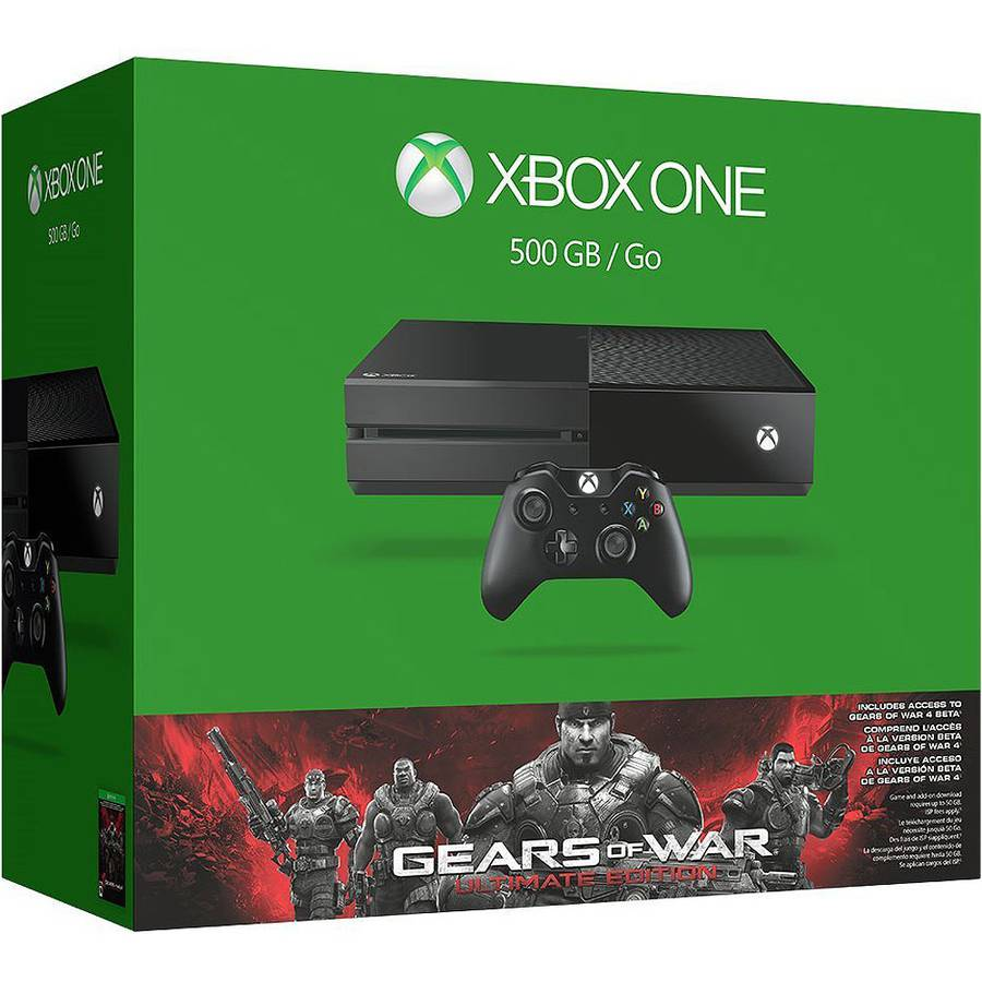 Xbox One 500GB Gears Of War Ultimate Edition Console