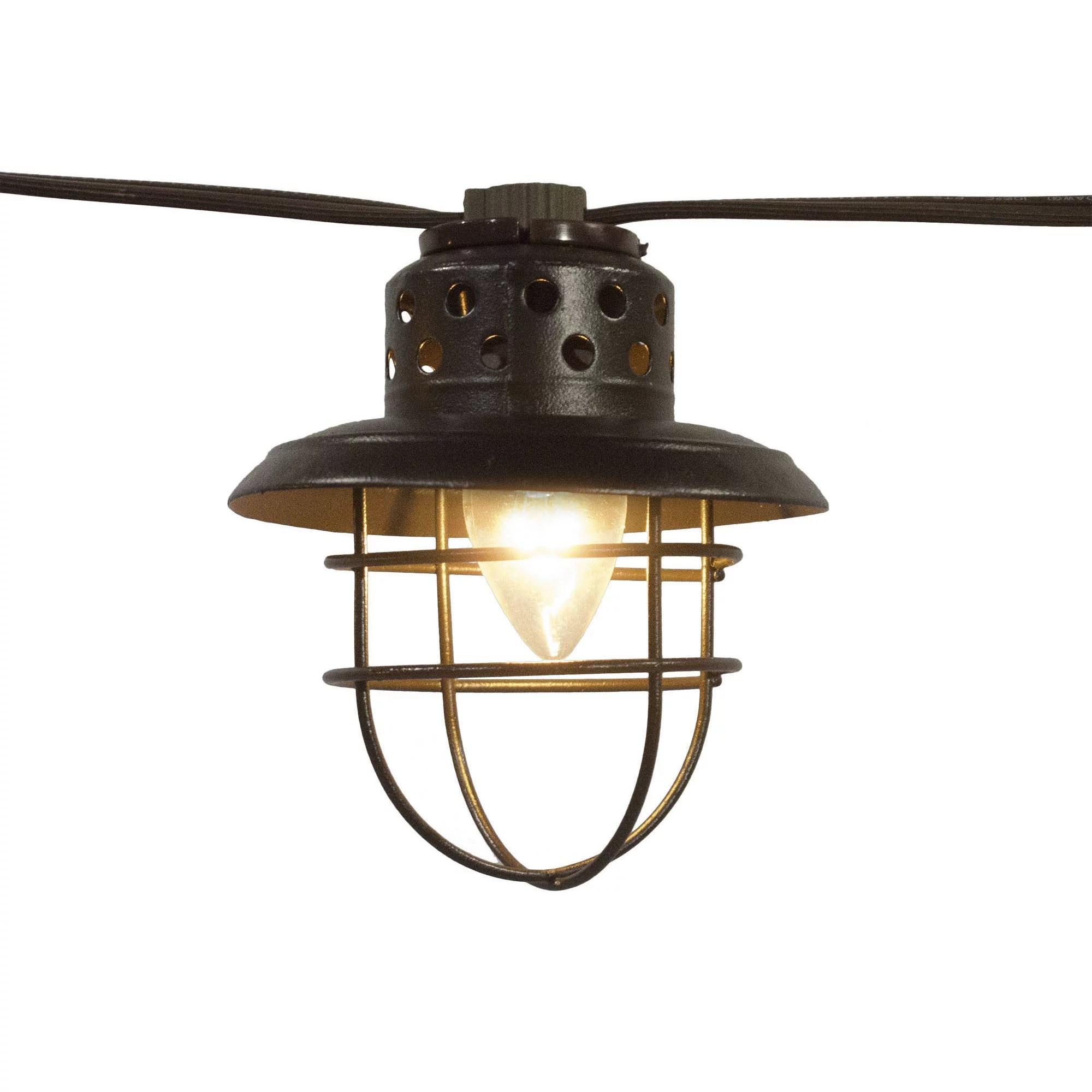 better homes gardens metal lantern string lights walmart com