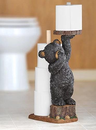 Northwoods Bear Toilet Paper Holder Walmart Com