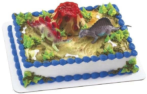 Dinosaur Cake Decoration Set Walmart Com