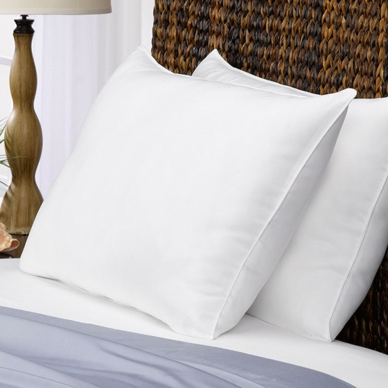 Image result for down and fiber fill pillows