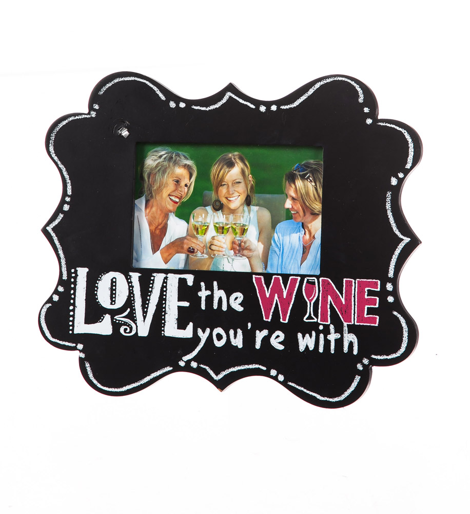 Download Love the Wine You're With Wood 4x6 Picture Frame - Walmart.com