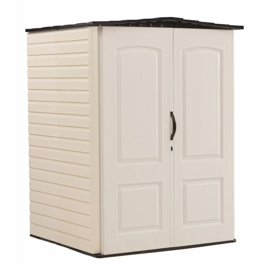 rubbermaid 5 x 6 ft large storage shed sandstone onyx walmart com
