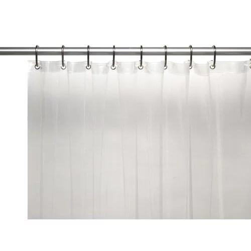 double swag fabric shower curtain vinyl liner shower rings dobby dot design cobalt navy