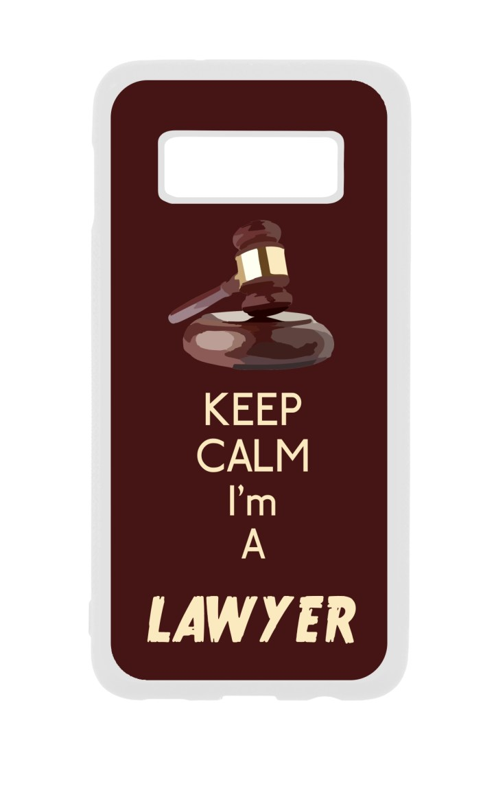 Keep Calm Im A Lawyer Attorney Job Career Gift White