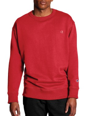 Champion Men's Powerblend Fleece Crew Sweatshirt, up to Size 4XL