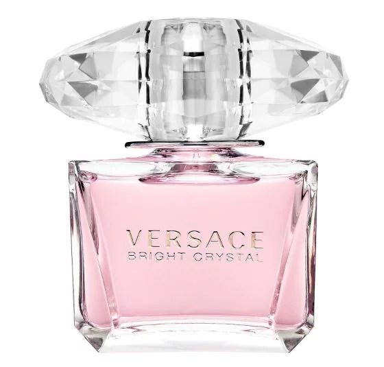 Versace Bright Crystal Eau De Toilette Spray, Perfume for Women, 3 Oz