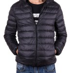 Sayfut Men Down Jacket Outwear Puffer Coats Casual Zip Up Windbreaker Lightweight Winter Jackets Black Walmart Com Walmart Com
