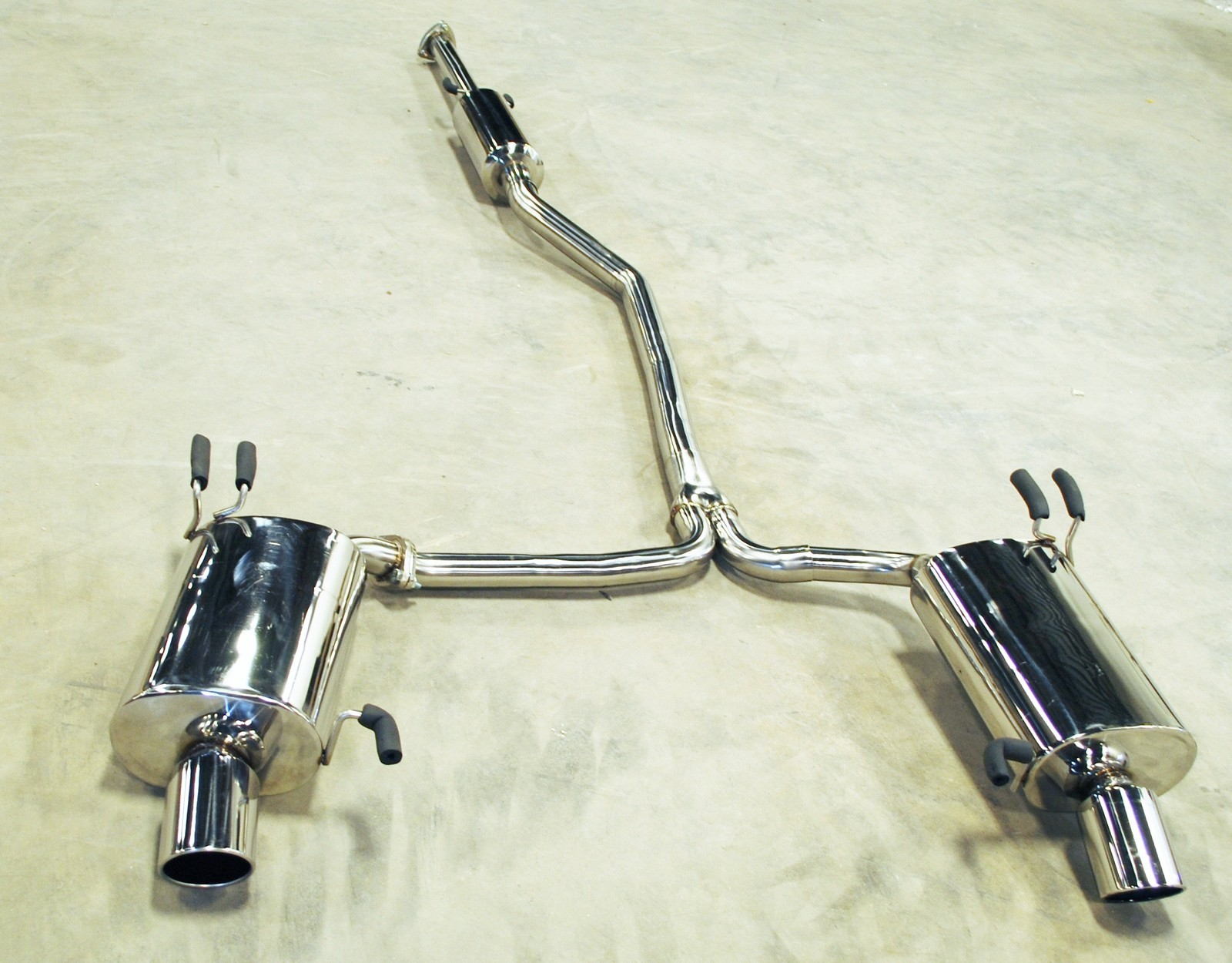 direct bolt on 2009 2012 acura tl dual 4 tip 2 25 piping catback exhaust muffler system direct bolt on 2009 2012 acura tl dual 4 tip 2 25 piping