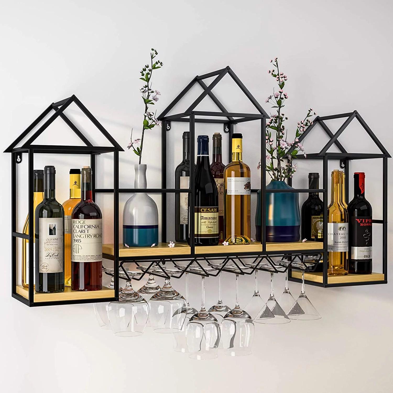 wine glass racks walmart com