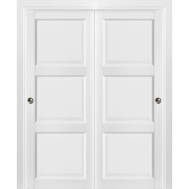 sliding closet bypass doors 60 x 80 inches walmart com
