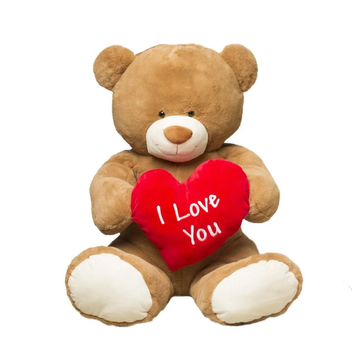 Valentines Day Jumbo 35 Plush I Love You Teddy Bear