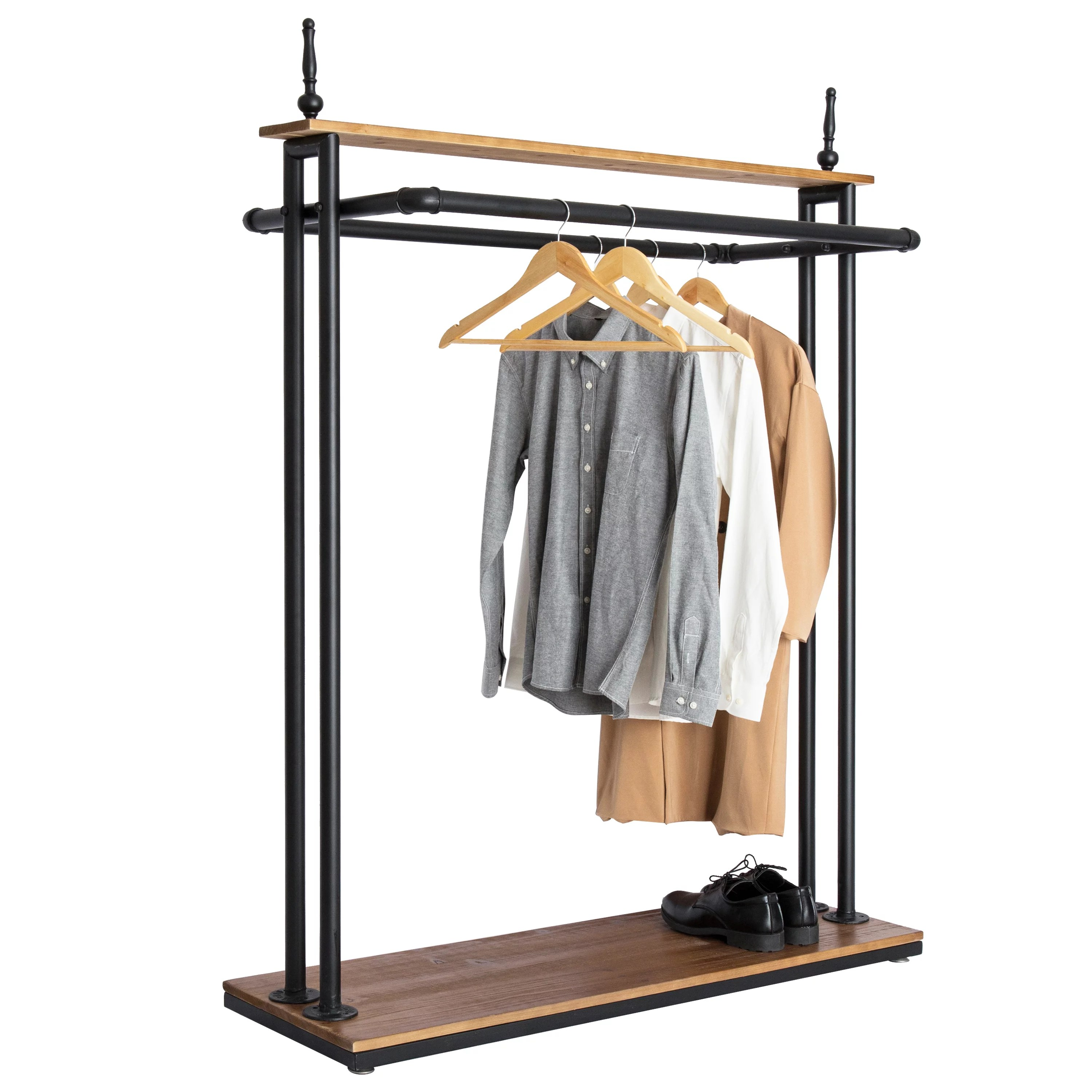 hanging clothes retail display