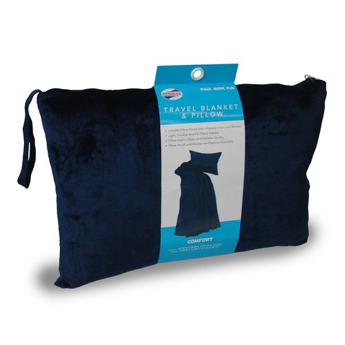 travel blanket and pillow walmart online