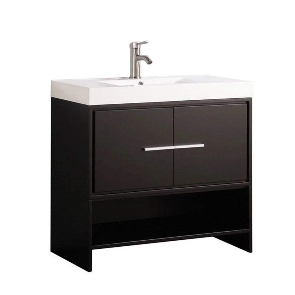 """MTD Vanities Cypress 36"""" Single Sink Modern Bathroom ..."""