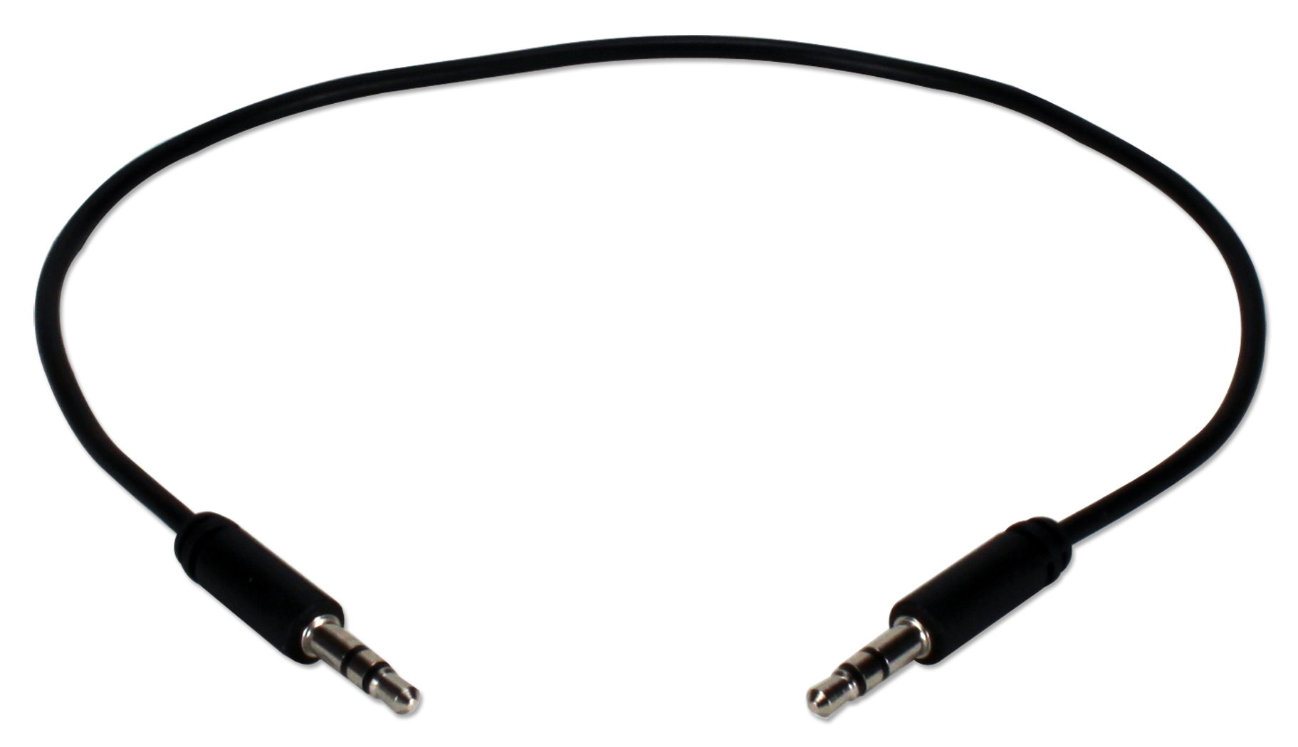Qvs 1ft 3 5mm Mini Stereo Male To Male Speaker Cable