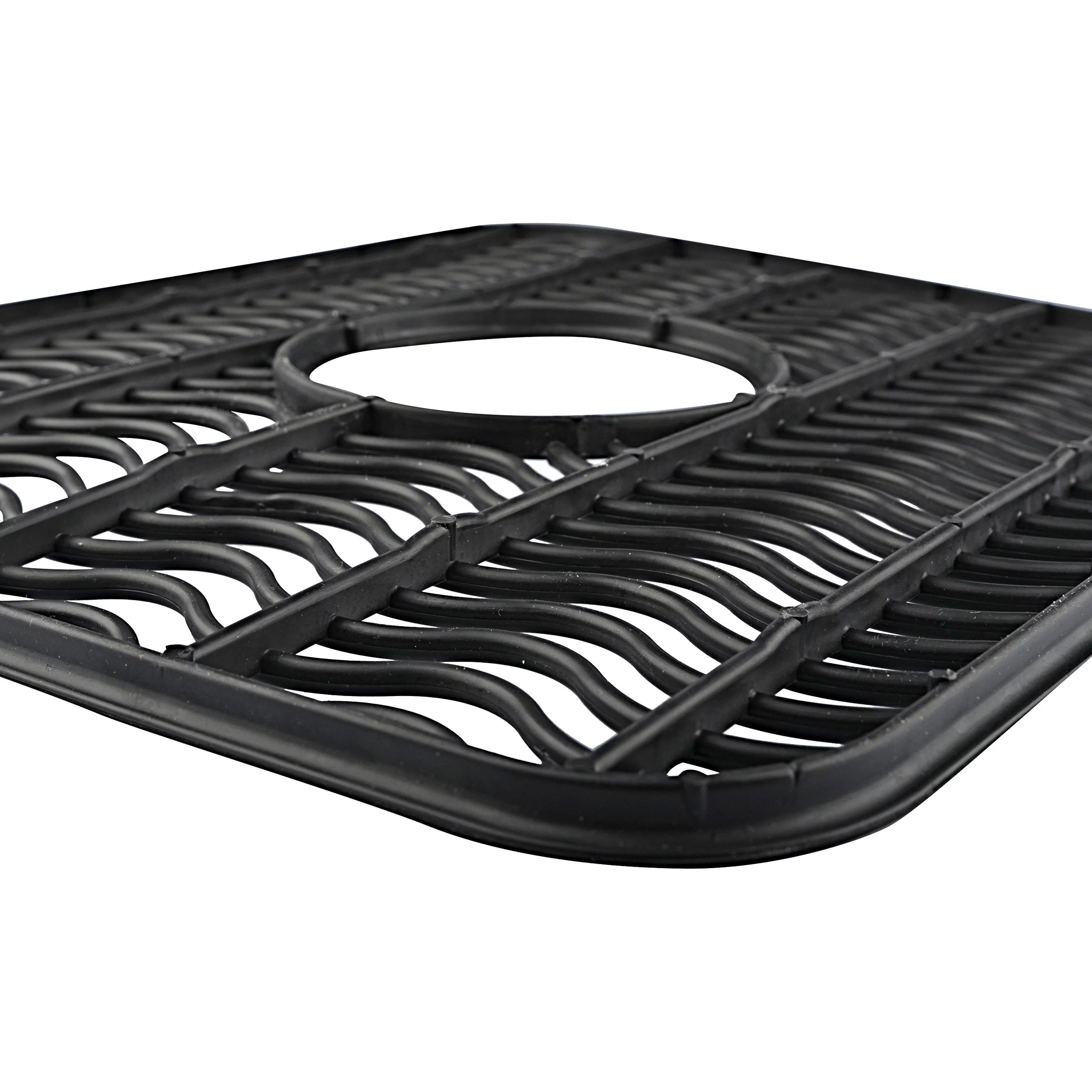 rubbermaid small sink protector black