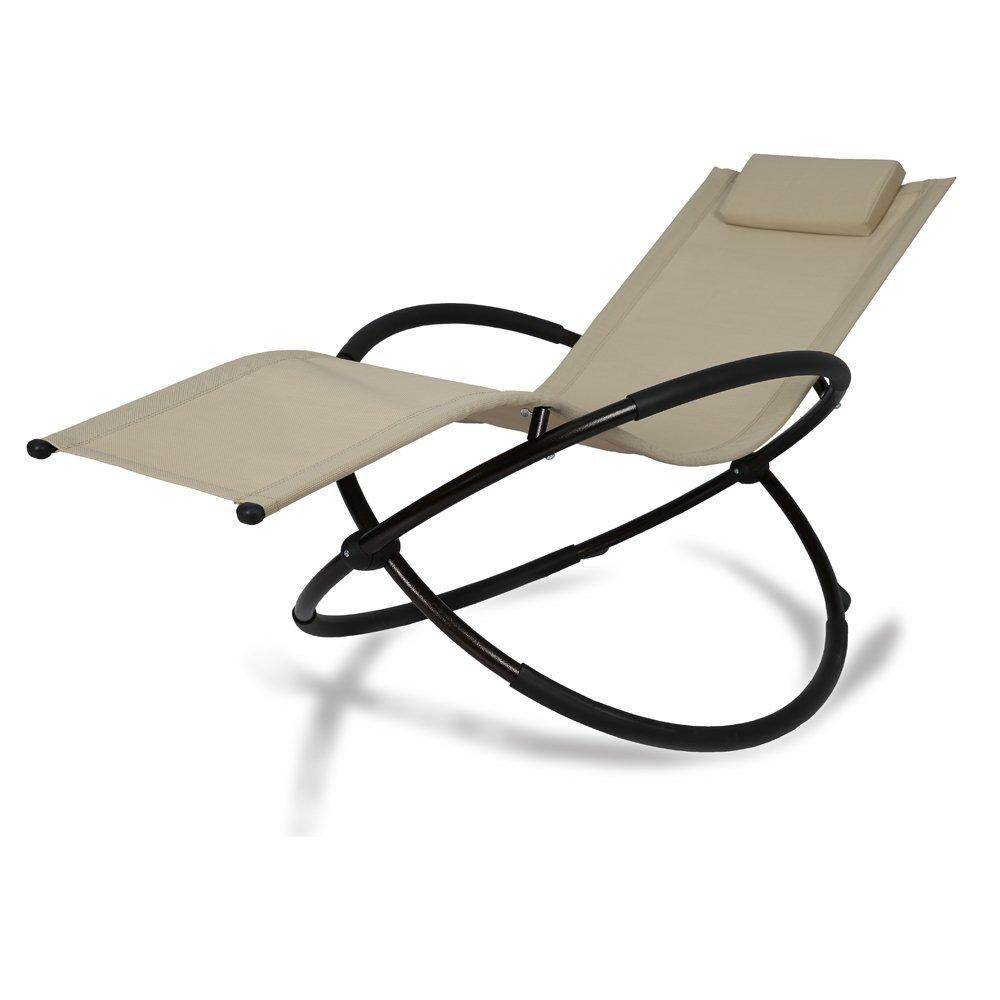 patio tree orbital zero gravity patio chaise lounge rocking lounger outdoor lounge chair 1
