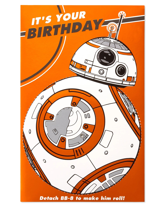 Feste Besondere Anlasse Bb8 Star Wars Personalised Birthday Card Free 1st Class Shipping Mobel Wohnen Elite Eshop Eu