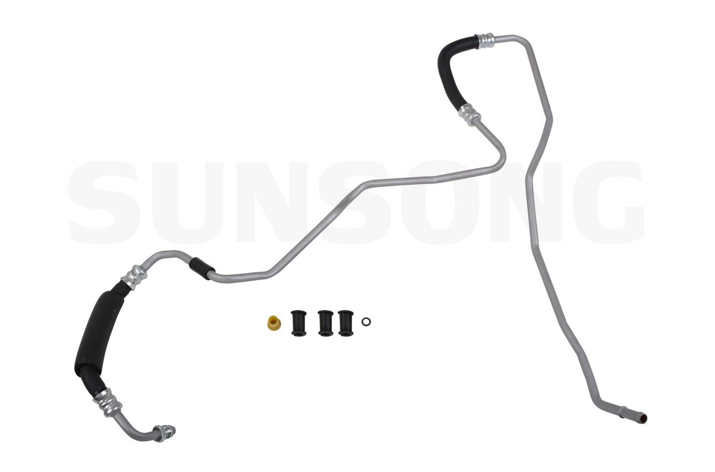 Power Steering Return Line Hose For 01 06 Hyundai