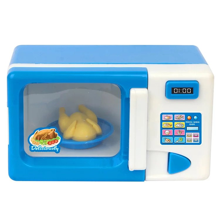 children s mini cute microwave oven pretend role playing toys children s educational toys