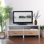 Aingoo Modern Tv Stand Media Console Cabinet With Drawers For Living Room Storage Walmart Com Walmart Com