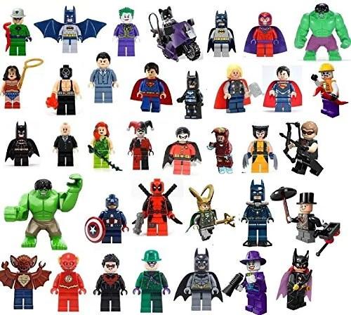 36 Edible Image Lego Super Heroes Cake Cupcake Toppers Walmart Com Walmart Com