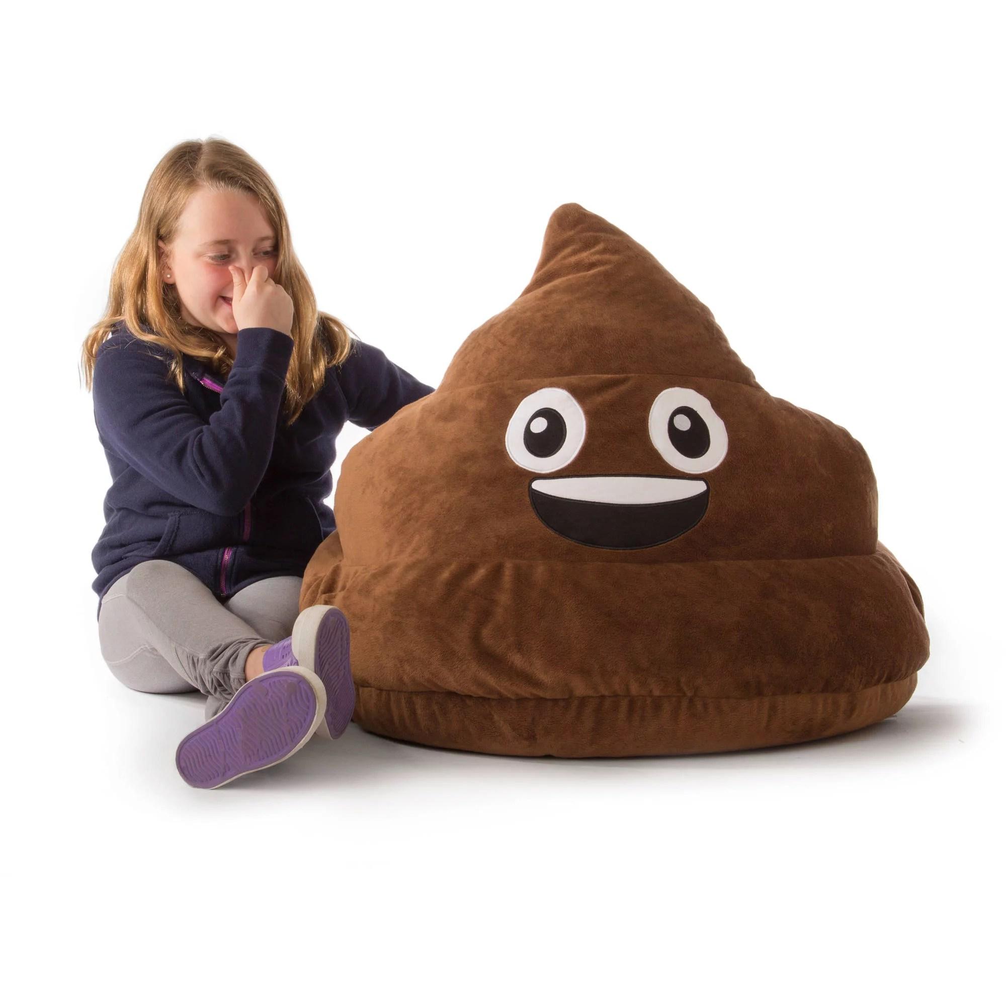 Emoji Emoticon Bean Bag Soft Chair Comfortable Sofa Seat