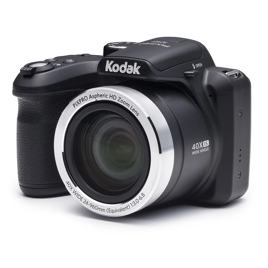KODAK PIXPRO AZ401 Bridge Digital Camera - 16MP 40X Optical Zoom HD720p video (Black)