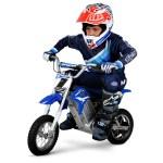 Hyper Hpr 350 Dirt Bike 24 Volt Electric Motorcycle Blue Walmart Com Walmart Com