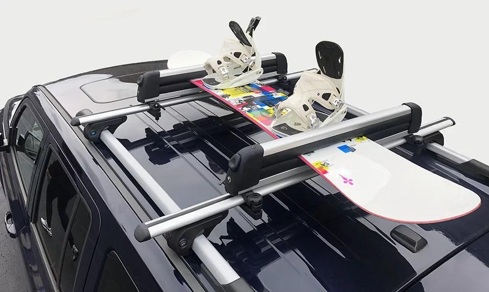 brightlines 2009 2015 honda pilot cross bars ski rack combo roof racks