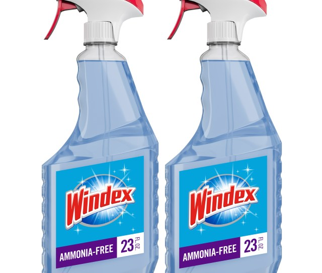 Windex Ammonia Free Glass Cleaner Trigger Bottle Crystal Rain 23 Fl Oz