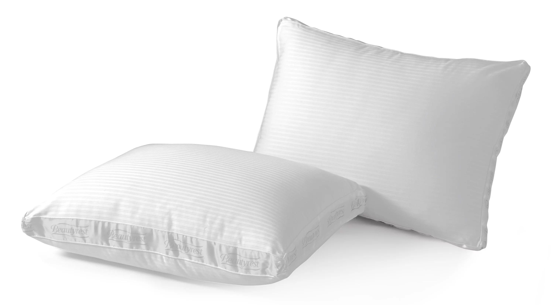 beautyrest 400tc pima cotton extra firm pillow multiple sizes set of 2 walmart com