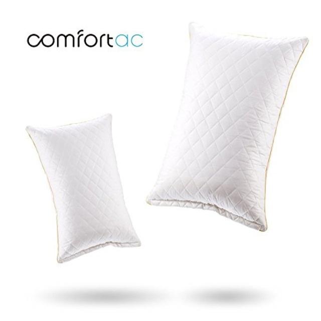 comfortac shredded memory foam pillow premium memory foam pillow w adjustable hypoallergenic gel infused memory foam fill and r walmart com