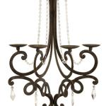 French Style Chandelier Wall Sconce Candle Holder With Crystal Details 26 Walmart Com Walmart Com