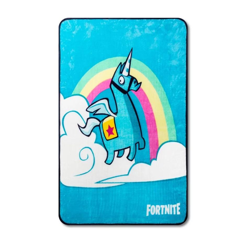 fortnite 40 x60 brite unicorn throw blanket