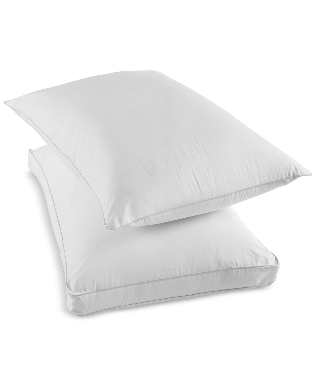 martha stewart collection dream science won t go flat foam core down alternative pillow standard white walmart com