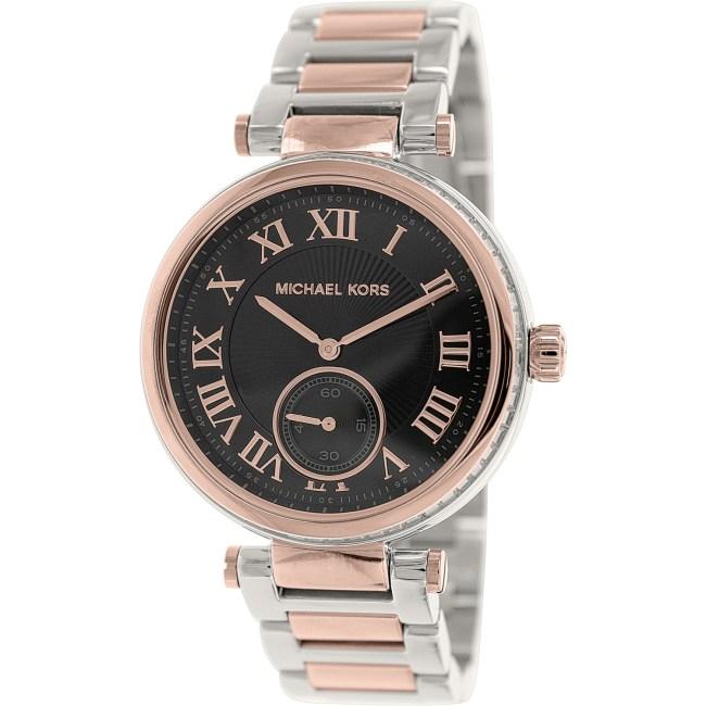 Michael Kors Women's Skylar MK5957 Gold Stainless-Steel Quartz Fashion Watch