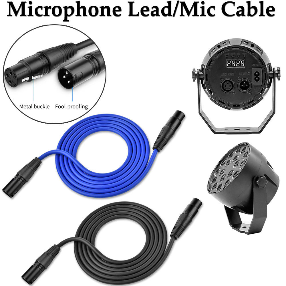 dmx cables 3 pin dmx lighting cable