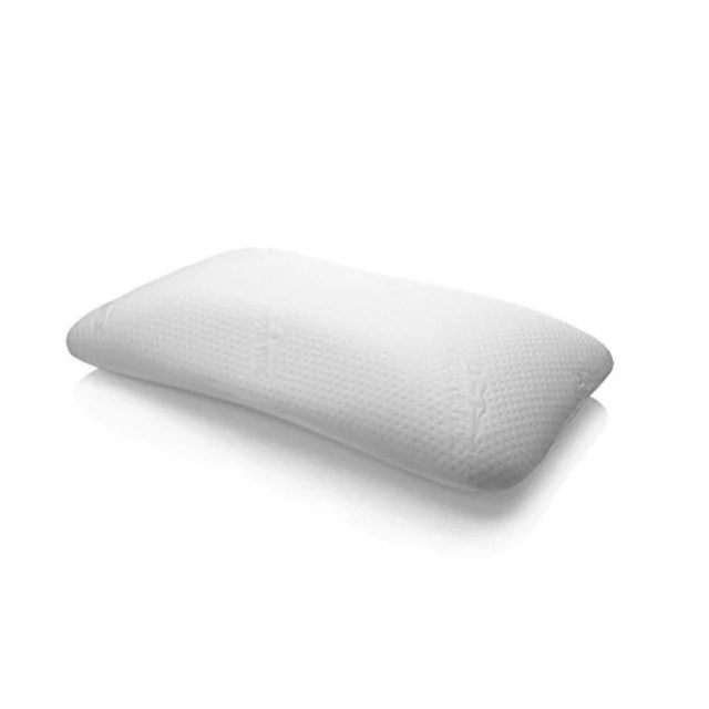 tempurpedic symphony memory foam bed pillow with washable cover standard size walmart com