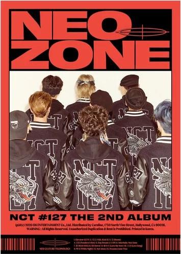 The 2nd Album 'NCT #127 Neo Zone' [C Ver.] – CD