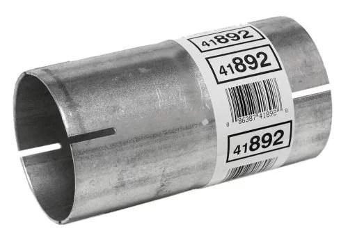 walker exhaust 41892 exhaust pipe adapter 3 inch inlet outside diameter 3 inch outlet outside diameter 6 inch length