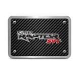 Ford Raptor Svt 3d Logo Carbon Fiber Texture Billet Aluminum 2 Tow Hitch Cover Walmart Com Walmart Com