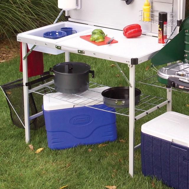 coleman pack-away deluxe portable kitchen - walmart