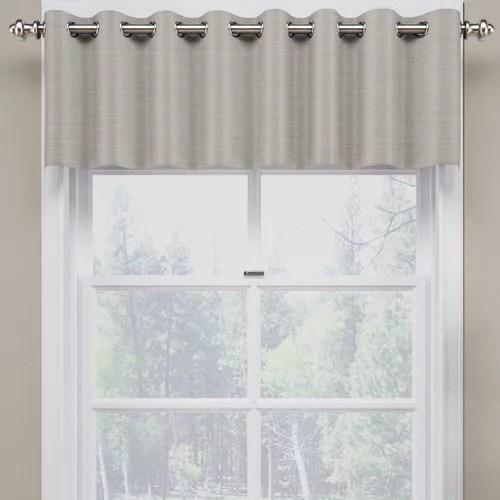 eclipse curtains bryson blackout curtain valance
