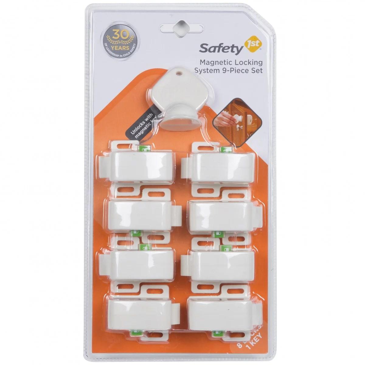 Safety 1st Complete Magnetic Locking System 8 Locks