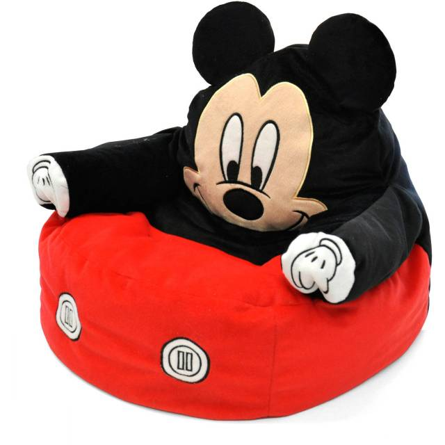Mickey Mouse Character Figural Toddler Bean Chair Walmart
