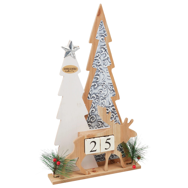 Holiday Time Christmas Tree Advent Calendar